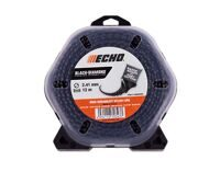 Echo Корд трим. ECHO Black Diamond Line 2,4мм*12м (витой квадрат) (340 095 004)